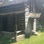 Cherokee Cabin, 1st flr only, Chattanooga, TN (1830s, additions 1890s) - Trail of Tears
