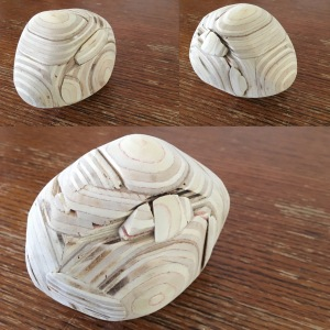 a little wood sculpture